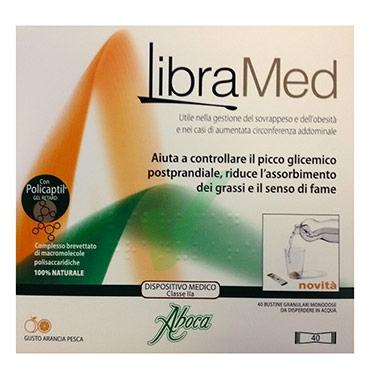 Aboca Linea Dispositivi Medici Controllo del Peso Libramed Granulare 40 Buste