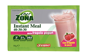 EnerZona Linea Alimentazione Dieta a ZONA Instant Meal Fragola Yogurt 40-30-30