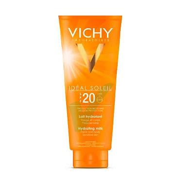 Vichy Linea Ideal Soleil SPF20 Latte Solare Viso e Corpo Protezione Bassa 300 ml