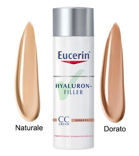 Eucerin Linea Hyaluron Filler Trattamento Antirughe CC Cream Naturale 50 ml