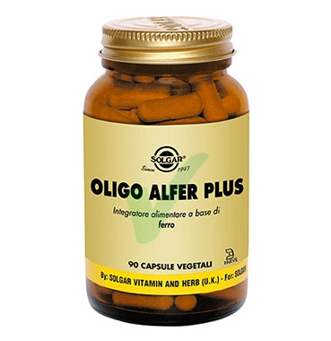 Solgar Linea Minerali Oligo After Plus Integratore Alimentare 90 Capsule Vegetal