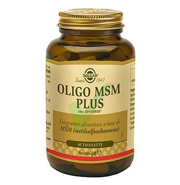 Solgar Linea Minerali Oligo MSM Zolfo Integratore Alimentare 60 Tavolette