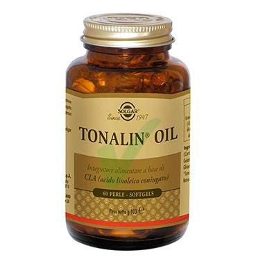 Solgar Linea Intergatori Sport Tonalin Oil Integratore Alimentare 60 Perle