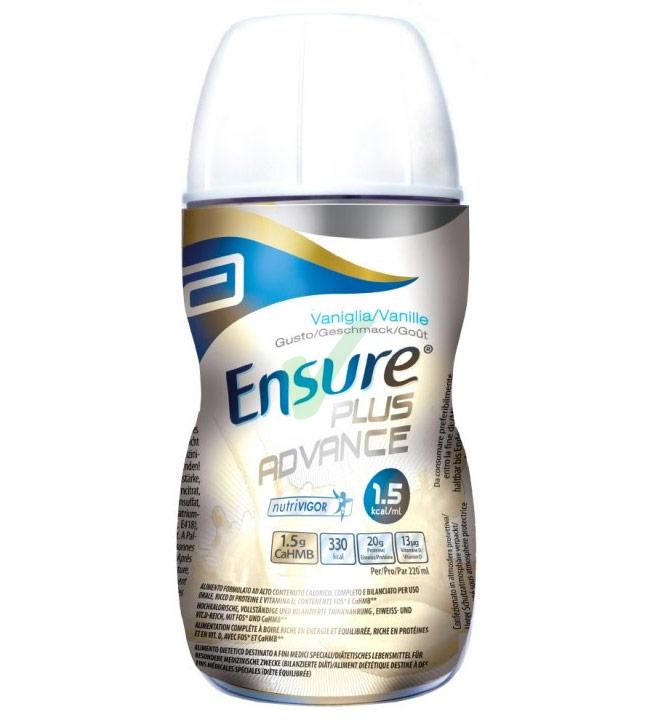 Abbott Linea Nutrizione Domiciliare Ensure Plus Advance 4x220 ml Gusto Fragola