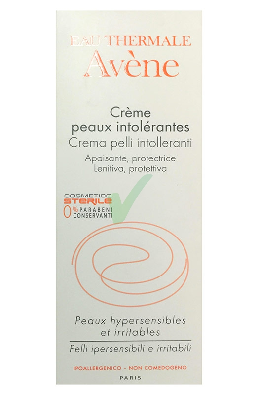 Avene Linea Essenziale Viso Pelli Intolleranti Crema Lenitiva Calmante 40 ml