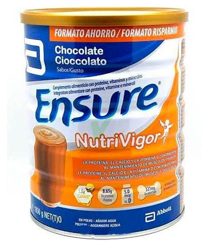 Abbott Linea Nutrizione Domiciliare Ensure NutriVigor 400 g Gusto Cioccolato
