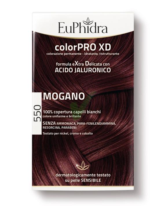 EuPhidra Linea ColorPRO XD Colorazione Extra-Delixata 550 Mogano