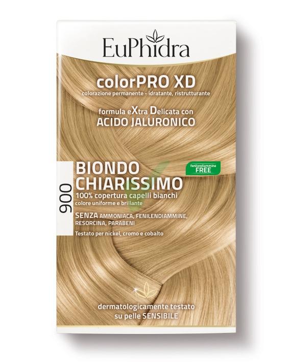 EuPhidra Linea ColorPRO XD Colorazione Extra-Delixata 900 Biondo Chiarissimo