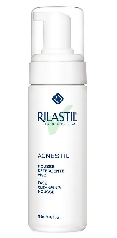 Rilastil Linea Acnestil Mousse Detergente Viso Pelli Grasse e Sensibili 150 ml