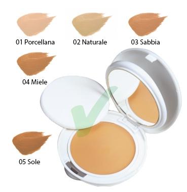 Avene Linea Couvrance Coprente Crema Compatta Oil Free Colore 05 Sole