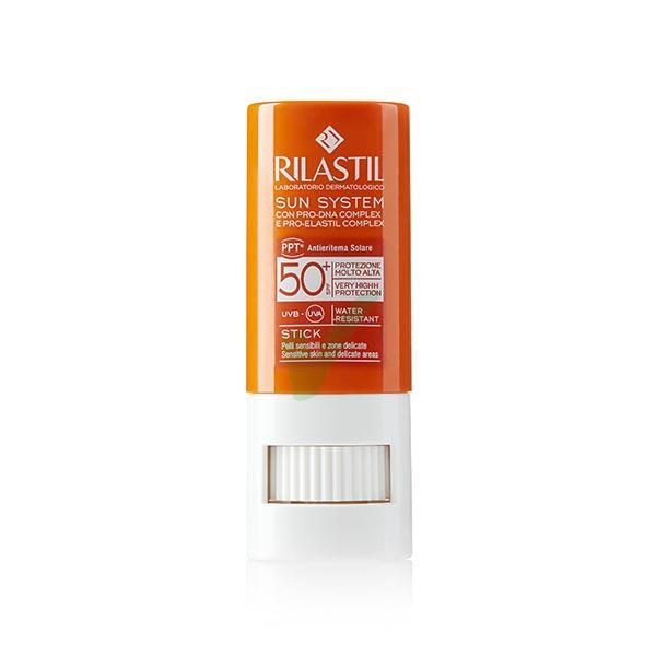 Rilastil Linea Sun System PPT SPF50+ Protezione Molto Alta Stick Large 8,5 ml