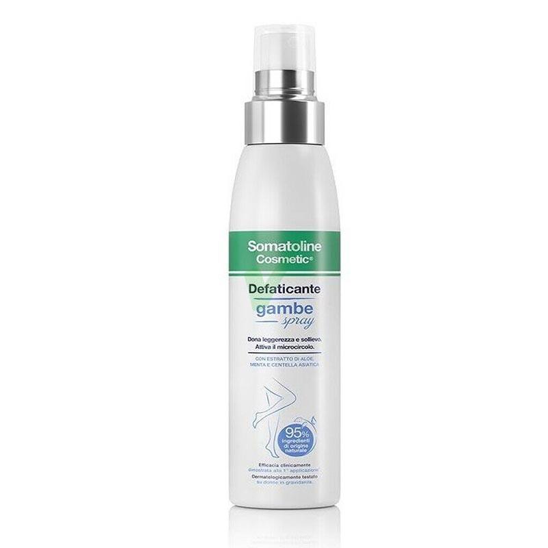 Somatoline Cosmetic Linea Gambe Trattamento Defaticante Spray Naturale 125 ml